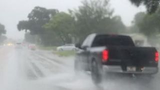Storm Emily Causes Flooding in St Petersburg, Florida - Video