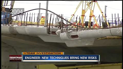 Engineer says new bridge construction process designed to reduce costs brings new risks | WFTS Investigative Report