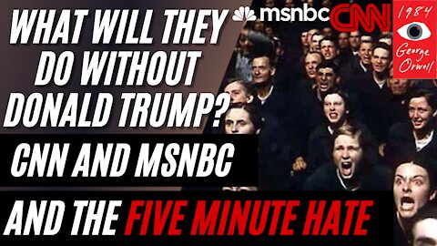 'CNN and MSNBC Fret Over Post-Trump Future' and the 'Five Minute Hate' from 1984
