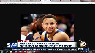 President Donald Trump's relentless social media war on sports - Video