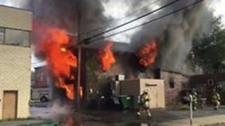 New Bethlehem Business Destroyed After Major Fire - Video