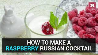 How to make a Raspberry Russian cocktail | Rare Life - Video