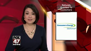 Consumers Energy granting refunds