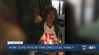 Family to take loved one off life support after battle with COVID-19 virus