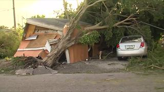 Belle Glade hit hard by Hurricane Irma - Video