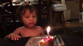 Birthday Candle Blunder - Video