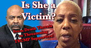 Representative Johnson Threatens Trumpers | Says She is the Victim of Death Threats