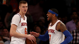 Carmelo Anthony BLASTS Kristaps Porzingis for Endorsing Phil Jackson's Triangle Offense - Video