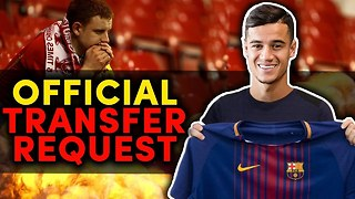 Philippe Coutinho Hands In OFFICIAL Transfer Request!  | #VFN - Video