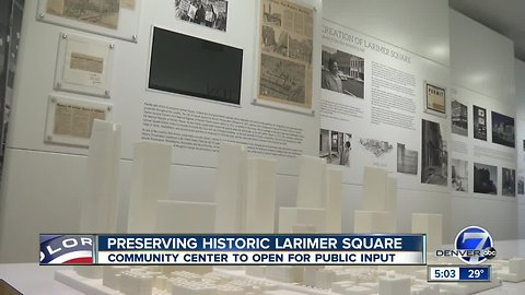 Historic Larimer Square wants public input on future development in downtown Denver