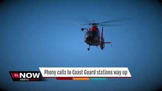 Phony calls to the Coast Guard way up - Video