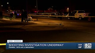 Phoenix PD investigating shooting near 55th Ave. and Broadway