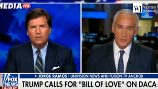 Tucker Carlson to Jorge Ramos: 'You're Accusing People You Disagree With of Bigotry' - Video
