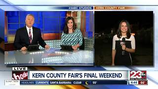 Last Weekend of the Kern County Fair - Video