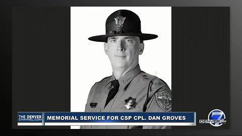 Full memorial service: Cpl. Dan Groves remembered as passionate family man, dedicated public servant