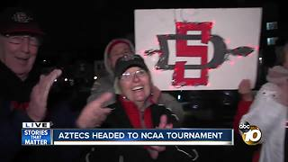 Aztec basketball advances to NCAA tournament, first time in 3 years - Video