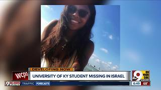 University of KY student missing in Israel - Video