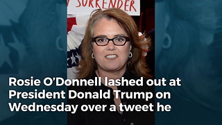 Rosie O'Donnell Crosses The Line, Calls Trump Sick Name After He Weighs In On Matt Lauer - Video