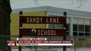 School District: Gun mistakenly brought to Menomonee Falls elementary school by student - Video