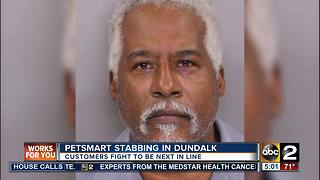 Dundalk man arrested in Pet Smart stabbing - Video