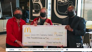 KC McDonald's locations help Cross-Lines Community Outreach
