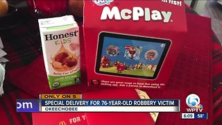 Okeechobee purse snatching victim receives Happy Meal from McDonald's