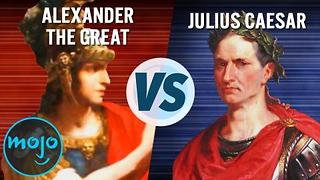 Alexander the Great vs. Julius Caesar - Video