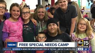 Free summer camp for those special needs