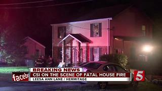 Woman Killed, 2 Injured In Hermitage House Fire - Video