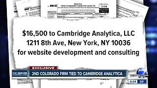 Second Colorado nonprofit gave thousands to Cambridge Analytica to help GOP candidates