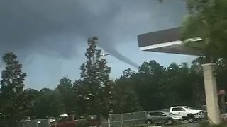 Funnel Cloud Spotted in Nocatee, Florida - Video