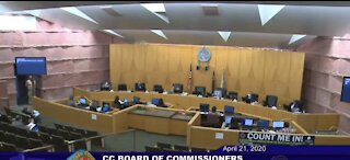 New officials sworn into Clark County Commission following contentious election