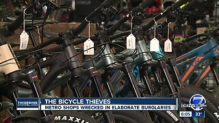 Thousands of dollars in bicycles stolen as thieves target nearly a dozen metro Denver bike shops