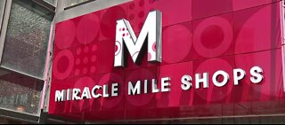Miracle Mile Shops have reopened
