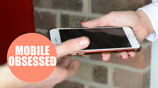 The average Brit checks their phone over 10,000 times a year - Video