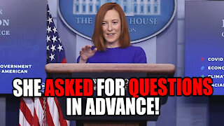 Biden's Press Office EXPOSED for asking Journalists for Questions in Advance!