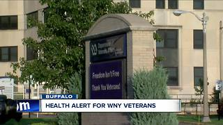 WNY Veterans face health scare - Video