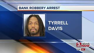 Arrest made in Creighton Federal Credit Union robbery - Video
