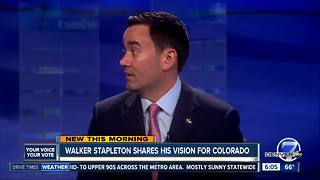 Walker Stapleton talks about nabbing GOP nomination