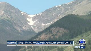 Nine Park Service advisory board members quit - Video