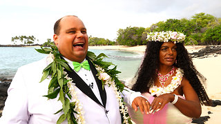 Tanning Addict Martina Big Gets Married | HOOKED ON THE LOOK - Video