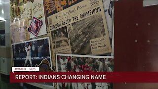 Cleveland Indians to change name with announcement as early as this week