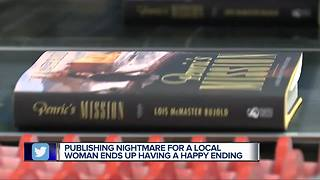 Publishing nightmare for a local woman ends up having a happy ending - Video