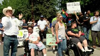 Disability Demonstrators Advocate for Accessibility