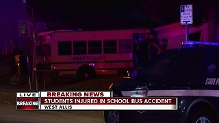 School bus involved in accident in West Allis