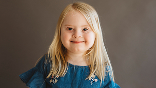7-Year-Old Model With Down Syndrome Takes To The Catwalk | BORN DIFFERENT - Video