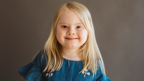 7-Year-Old Model With Down Syndrome Takes To The Catwalk | BORN DIFFERENT
