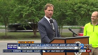Anne Arundel County officials announce new traffic plan