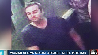 Woman sexually assaulted at St. Pete Bar - Video