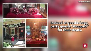 Mom throws her 3-year-old a Target themed Birthday party | Rare News - Video